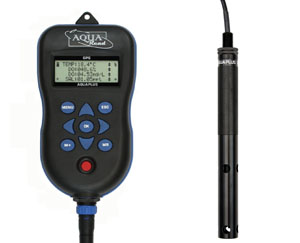 Aquaread AquaPlus portable Optical DO / EC Meter Package