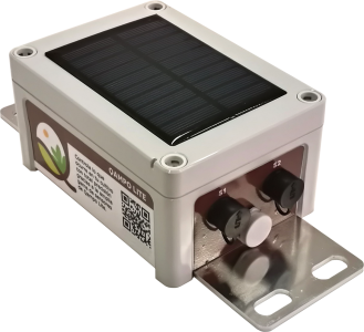 Qbic Lite 1 or 2 Channel Data Logger, Web Portal Access and Built-in Solar Charger